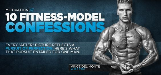 """Vince Del Monte - 10 True Confessions Of A Pro Fitness Model. Competition has crossed my mind more then once.  """"Bulking up requires you to let go of your obsession with always having show-off abs."""""""
