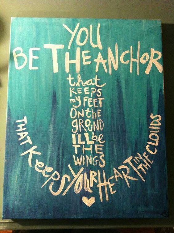 """I looooveeeee this!!!!(: The anchor is mine and my boyfriends """"symbol"""" so this really touches my heart!!<3"""
