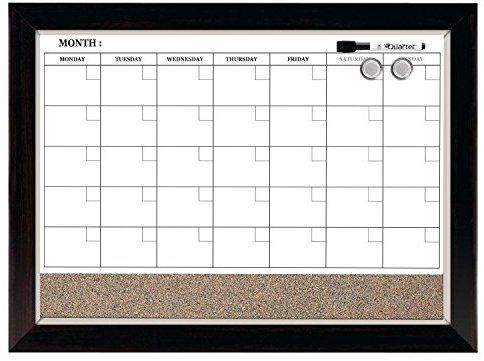 Amazon Com Quartet Dry Erase Calendar Board Planner Magnetic