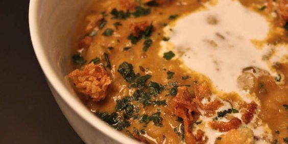Frankiz Bird | Dhal (Curry de Lentilles Indien)
