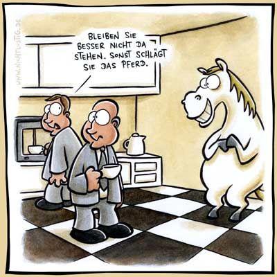 Sonst schlägt Sie das Pferd. | #fun #nichtlustig #schach #pferd