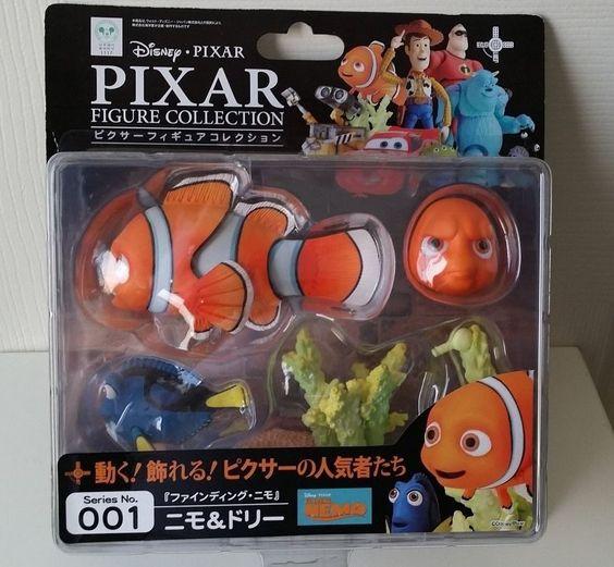 Finding Nemo Nemo & Dory Pixar Figure Collection No.001 Revoltech Action Figure