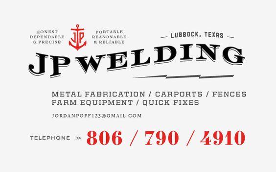 jp welding by kyle poff