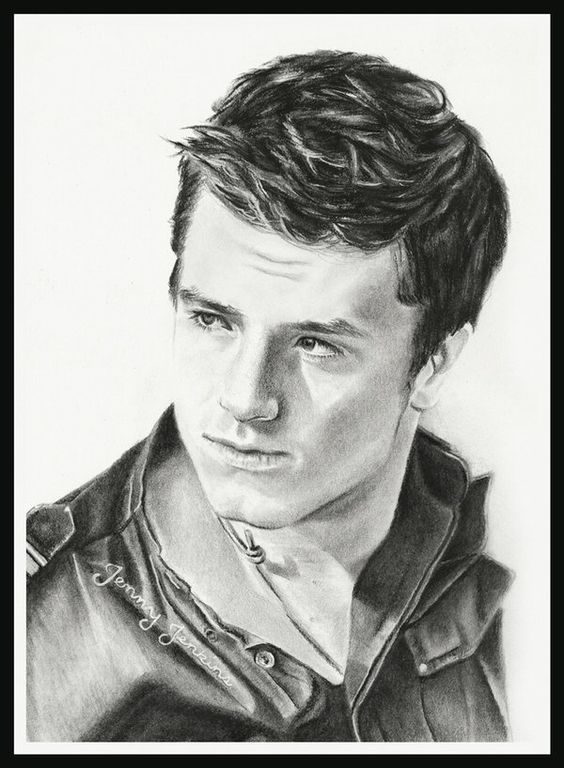 Peeta Mellark/ Josh Hutcherson by thewholehorizon on @DeviantArt
