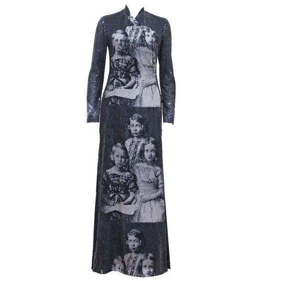 Alexander McQueen sequined 'Romanov Princesses' dress, 'Joan' Collection c. 1998 1: