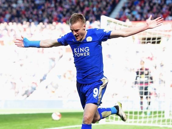 Jamie Vardy charged with improper conduct following reaction to sending-off