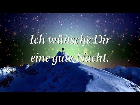Gute Nacht Gruß Für Dich Mit Diesem Wunderschönen Gedicht