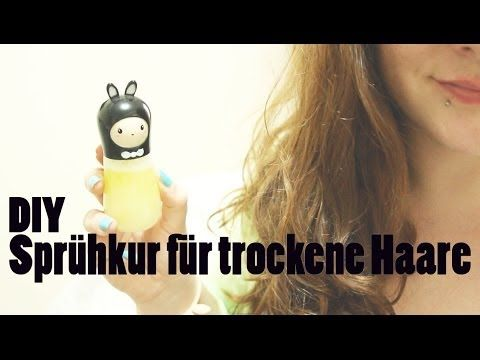 DIY Sprühkur für trockene Haare   http://www.youtube.com/watch?v=cNGInbhNPqU