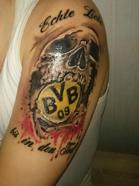 borussia dortmund tattoos   Nelly80: Borussia Dortmund   Tattoos von Tattoo-Bewertung.de
