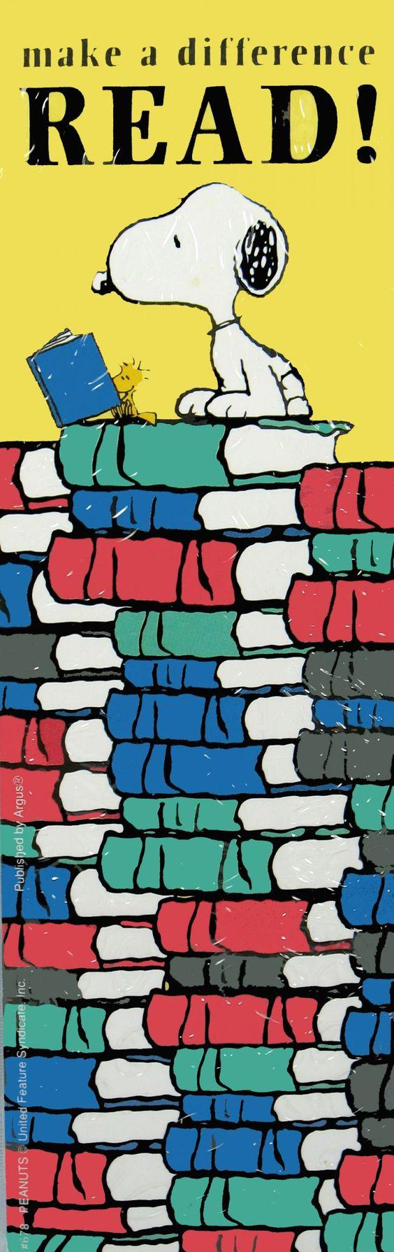 Snoopy hoy en el dia del libro ¡¡¡