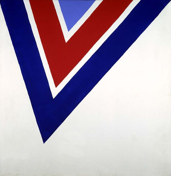 Kenneth Noland. Sarah's reach. 1964