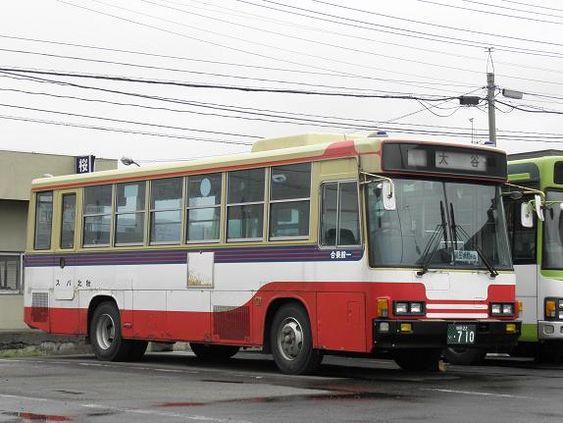 秋北バス 中型車 レトロバス 路線バス 観光バス