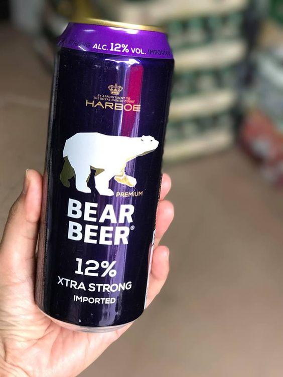 bia gấu nặng độ