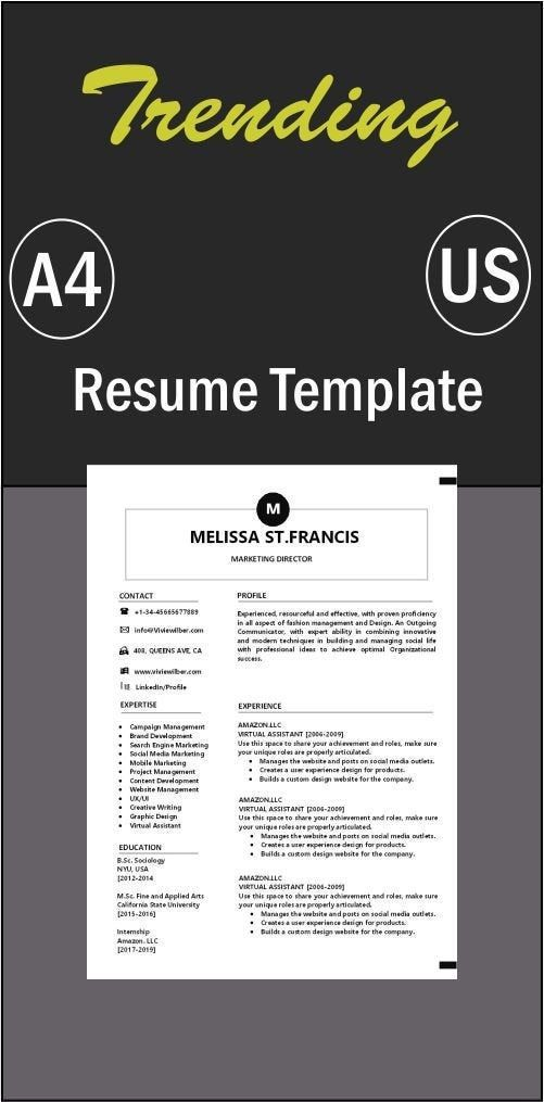 Pin By Francisresume On Cv Resume Template