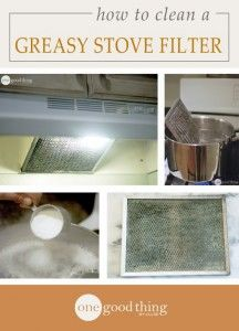 Best Natural Homemade DIY Cleaners and Recipes - Greasy Stove Hood Filter Homemade Recipe Cleaner  - All Purposed Home Care and Cleaning with Vinegar, Essential Oils and Other Natural Ingredients For Cleaning Bathroom, Kitchen, Floors, Laundry, Furniture and More http://diyjoy.com/best-homemade-cleaners-recipes
