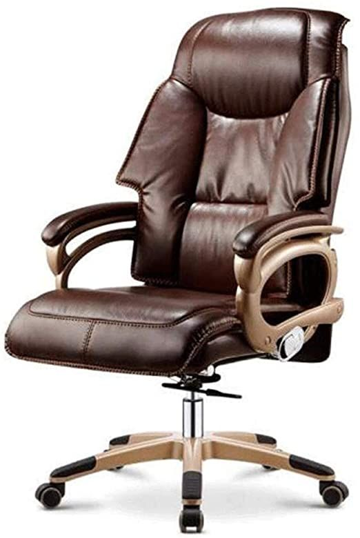 Zlsanvd Office Chair Executive Office Chairs High Back Leather Computer Desk Chairs With Flexible Rocking S In 2020 Executive Office Chairs Best Ergonomic Chair Chair