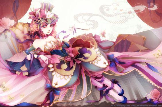 Madam Butterfly by bluefeathers.deviantart.com on @deviantART