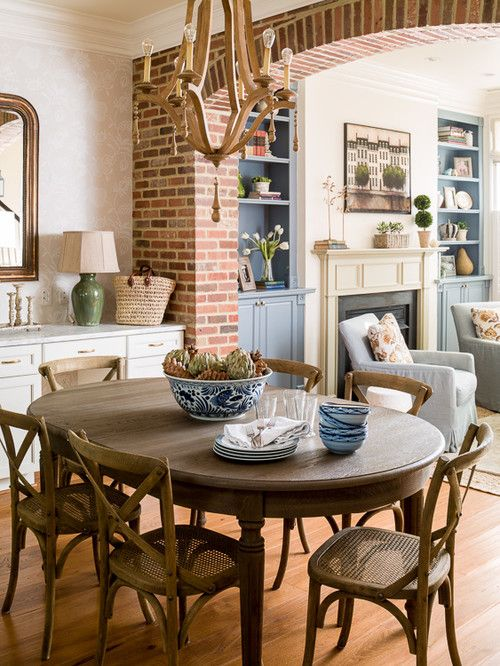 9 Nooks Make The Most Of Small Space Dining Town Country Living Dining Room Small Dining Interior Oval Dining Room Table