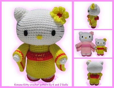 Hello Kitty Toy Knitting Pattern Free : Pinterest   The world s catalog of ideas