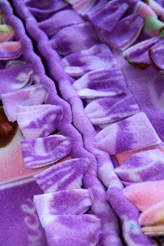 Blankets No Sew Fleece And Ties On Pinterest