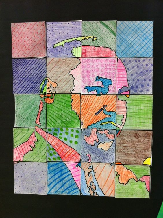 Martin Luther King Day  Apex Elementary Art: