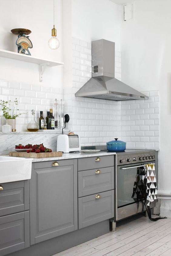 Friday Faves Best Ikea Kitchen Ideas On Pinterest Style Elixir Ikea Kitchen Design Kitchen Layout Grey Kitchens
