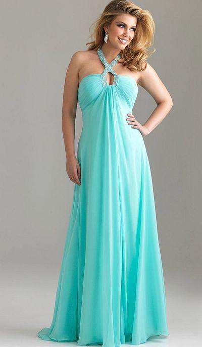 Flowy prom dresses dress yp for Plus size flowy wedding dresses