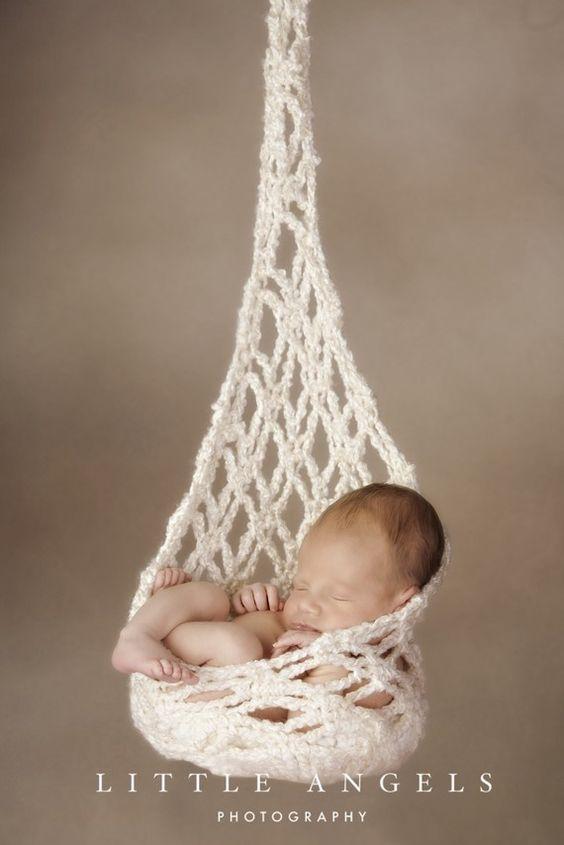 Newborn stork sack