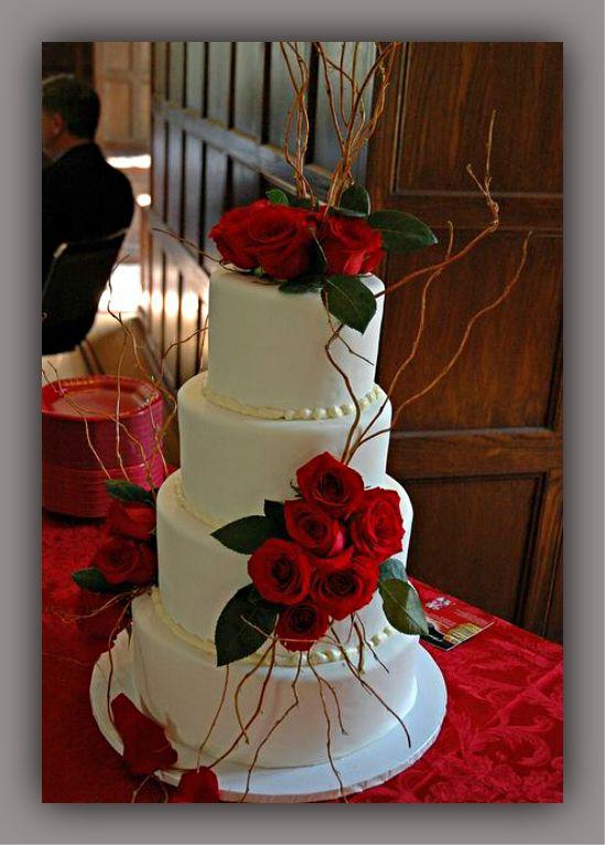 20 Pasteles De Boda Con Rosas Rojas Tortas Decoradas Wedding Cake Red Wedding Cake Roses Faerie Wedding
