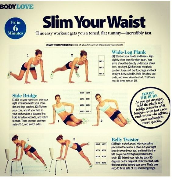 Secret Routines To Build The Size And Shape Of Your: Smaller Waist Gives You More Curves. Get Beach Ready