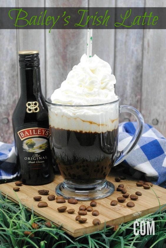 Bailey's Irish Latte | A Mother Thing