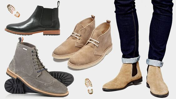 Quelles Bottes et Chaussures Montantes porter cet Automne Hiver 2016 ? Notre sélection de bottines Chelsea Boots, Desert Boots, Brogues etc.
