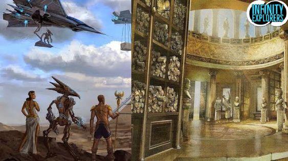 De Grote Bibliotheek Van Alexandrië: Bevatte Het Informatie Over Buitenaardse Wezens En Wie Heeft Het Vernietigd?