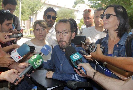 """Podemos espera que Rajoy fracase para """"sentarse"""" con el PSOE y buscar la abstención de los nacionalistas https://t.co/16fRmr7Coh #España"""