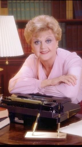 Angela Lansbury as Jessica Fletcher in Murder She Wrote