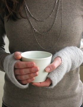 Super Easy Fingerless Gloves Knitting Pattern : Fingerless mittens, Mittens and Gloves on Pinterest
