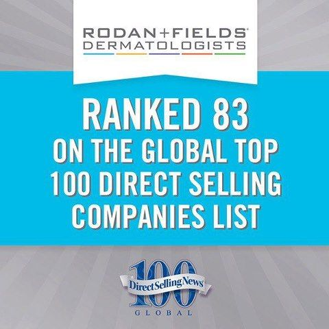 Global top 100 direct selling companies as reported by direct selling