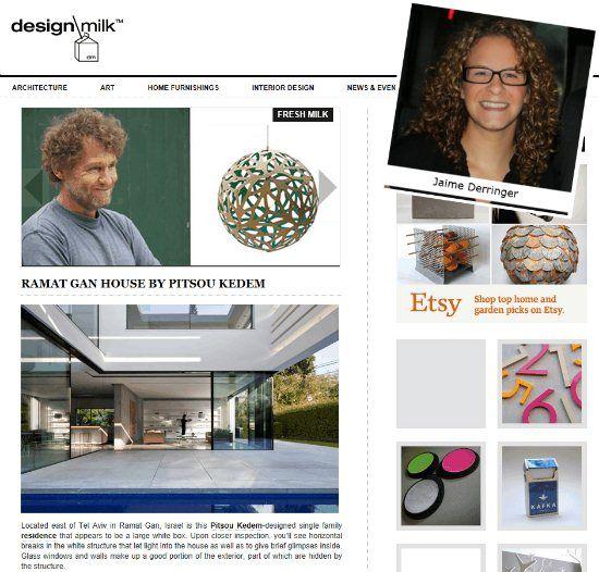 @Jaime Derringer of @Design Milk shares her inspirations!