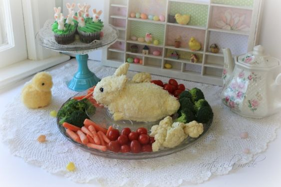Cutest Bunny Cheese Ball for Easter | Crafts a la mode