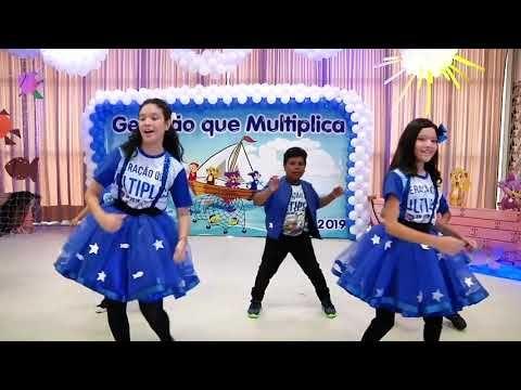 Cheio De Alegria Aline Barros Coreografia Youtube