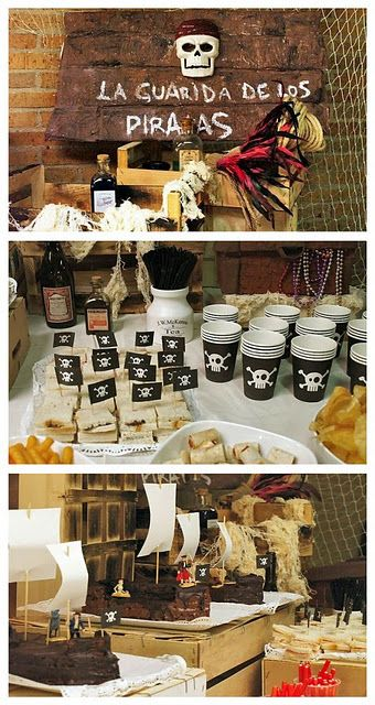 Rustic Pirate Theme party