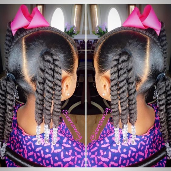 Best 14 African American Toddler Ponytail Hairstyles With Images