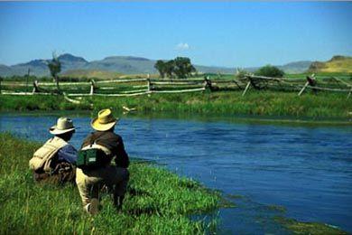 Big Hole Lodge vacation ranch Montana
