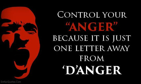 """Control your """"ANGER"""""""