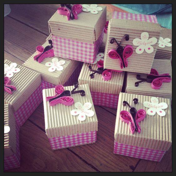 Cajitas dulceros para fiesta xv a os ideas para cajas y for Como hacer una fiesta de 15