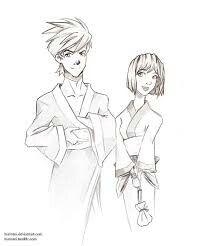 """Kai and nya """"kimono"""""""