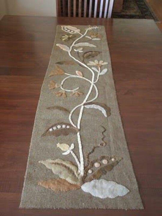 Camino de mesa bordados pinterest mesas for Caminos de mesa modernos