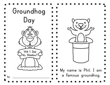 how to draw a groundhog for kindergarten