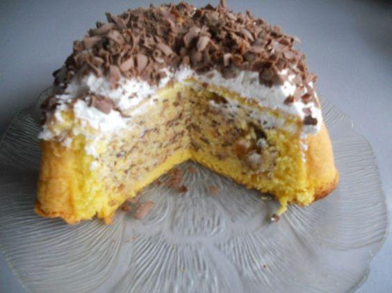 Malaga torta - Torte recepti