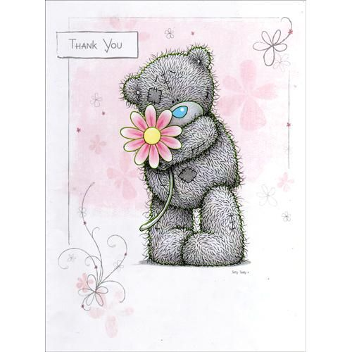 Thank You Me to You Bear Card (A01LS036) : Me to You Online - The Tatty Teddy Superstore.
